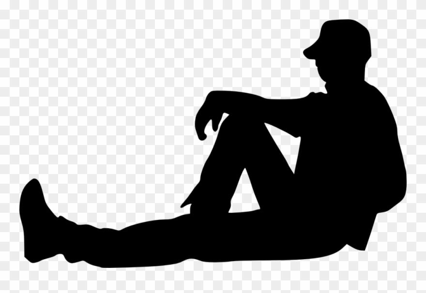 Sitting Silhouette.