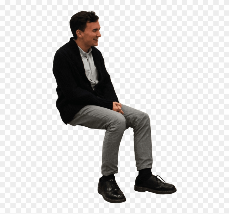 People Sitting On Bench Png.