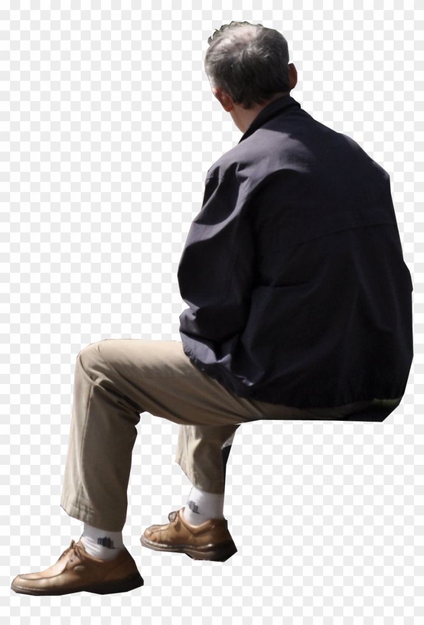 People Sitting Back Png.