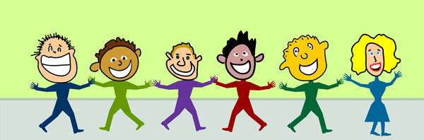 People Smiling Clipart.