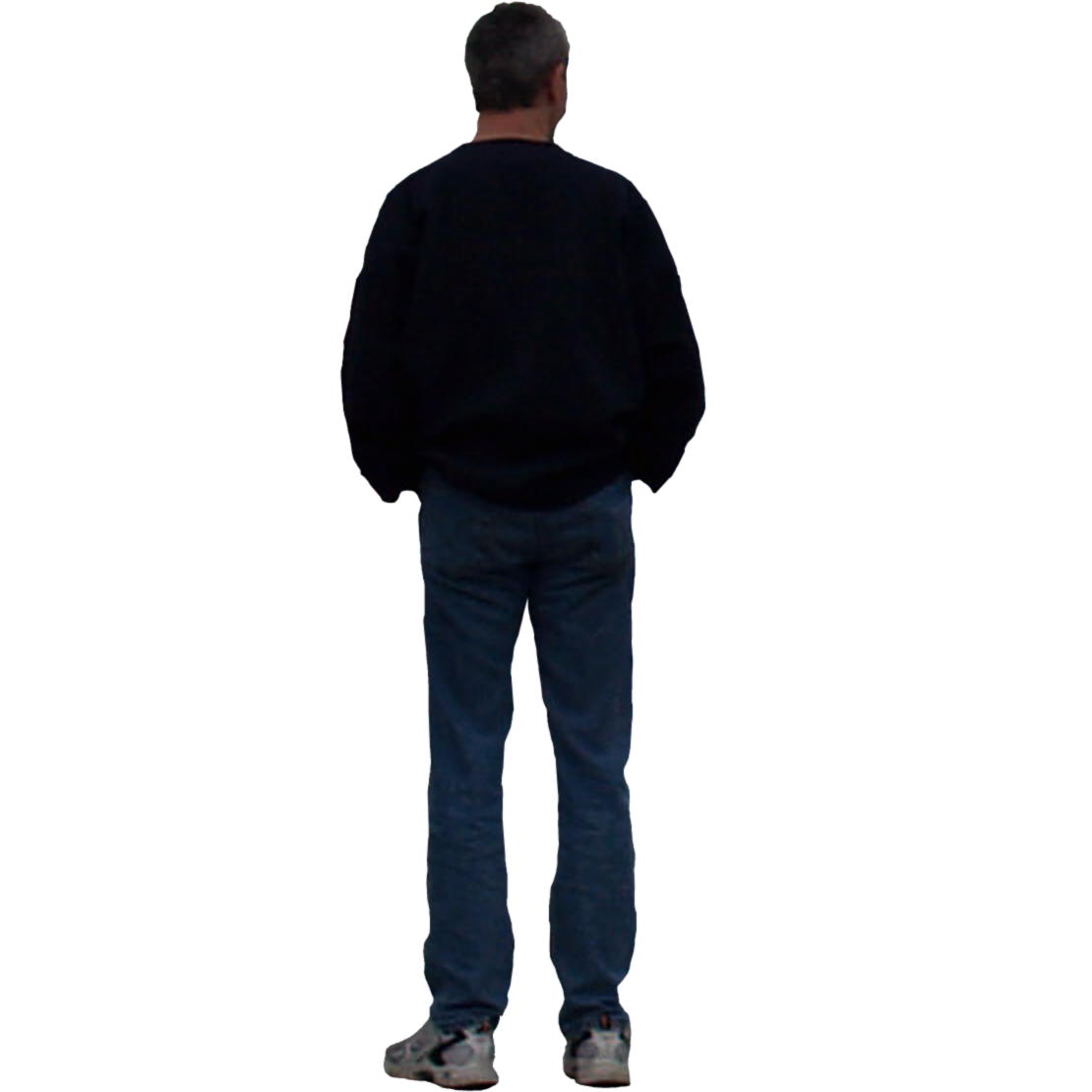 Person Standing Png Back (+).