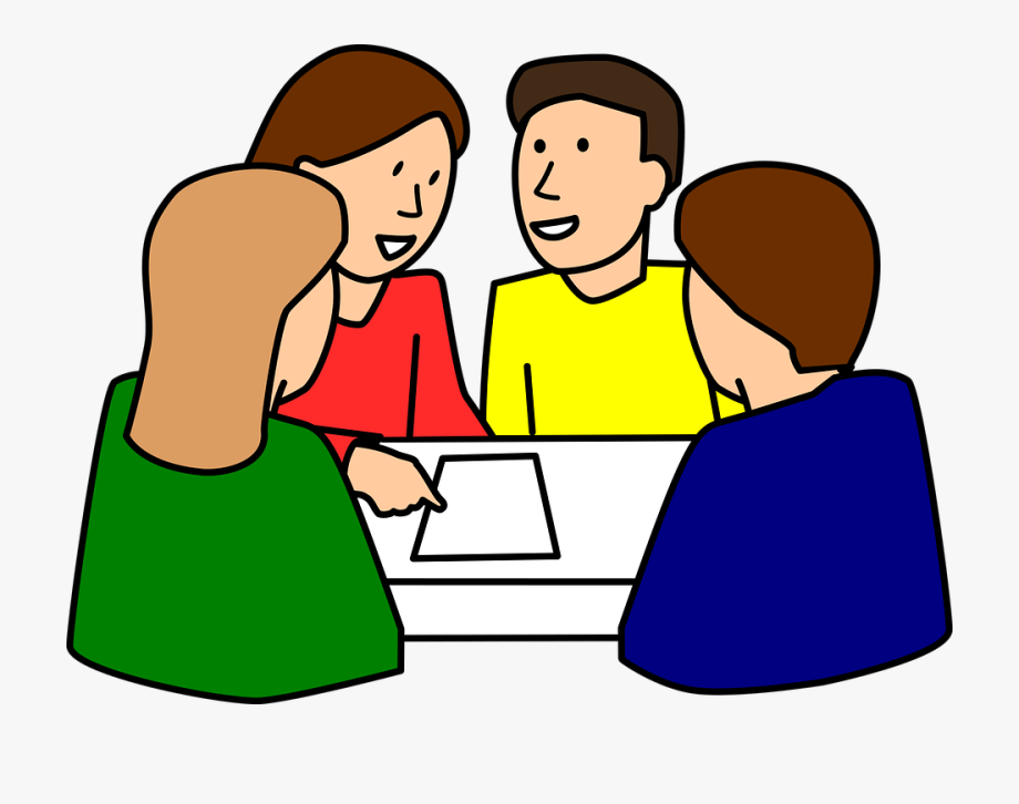 Clipart Of People Studying.