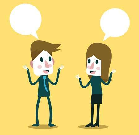 Two people talking clipart free 2 » Clipart Portal.