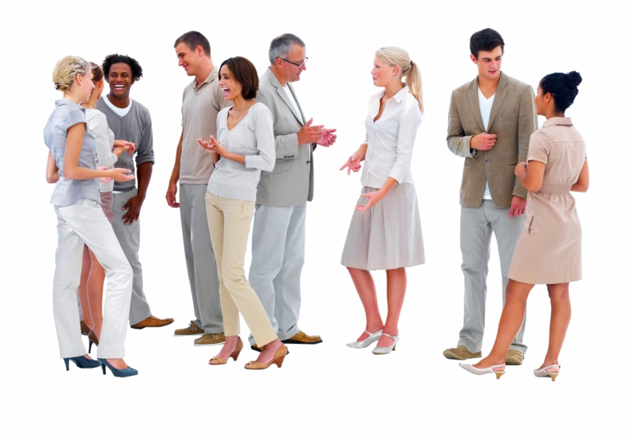 Cutout People Talking Free PNG Images & Clipart Download.