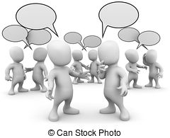 Human talking to each other Stock Illustration Images. 51.