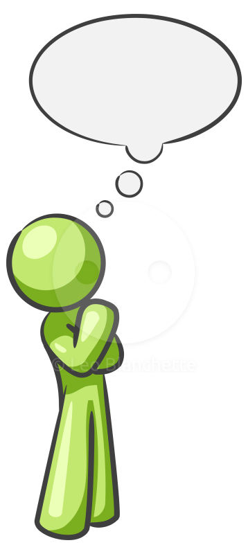Person thinking clipart free images 5.