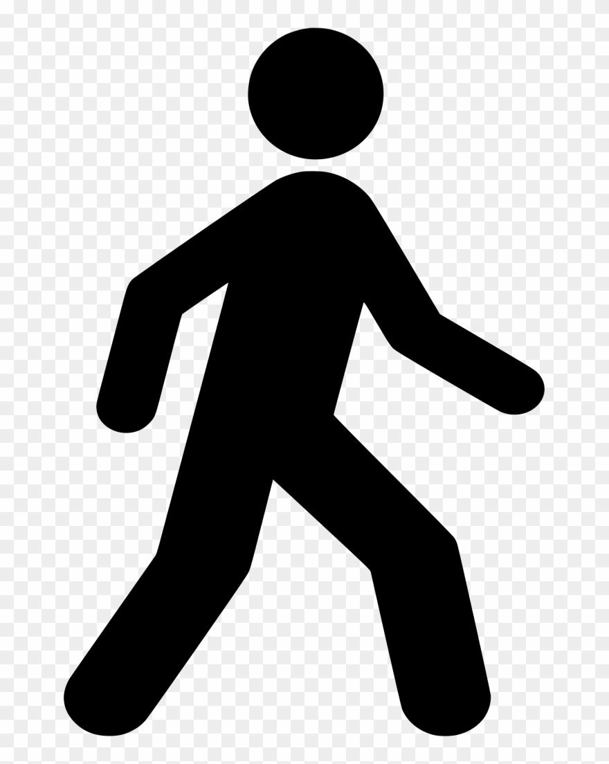 Man Walking Clip Art.