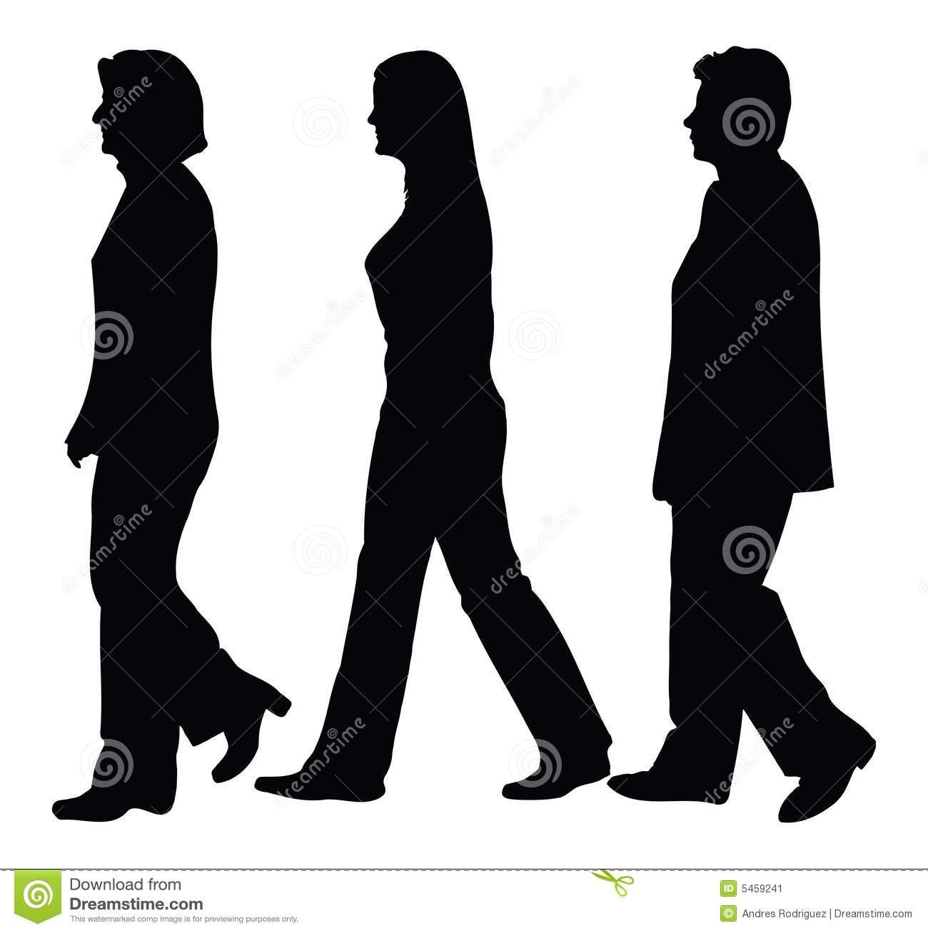 People Walking Clipart & People Walking Clip Art Images.