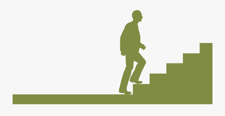 People Walking Up Stairs , Free Transparent Clipart.
