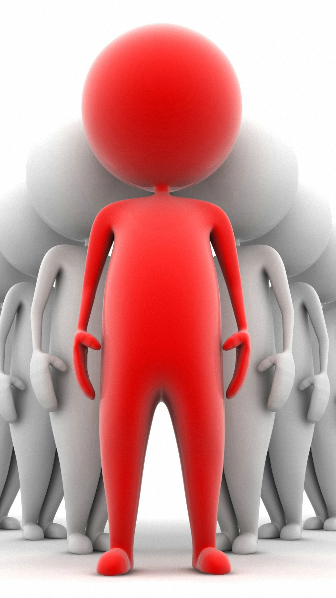 people crowd clipart little men iPhone 6 wallpapers HD and 1080P 6.