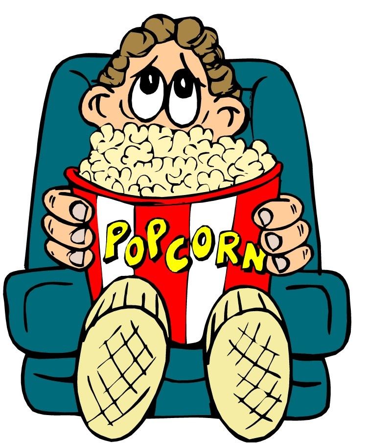 People watching a movie clipart 4 » Clipart Portal.