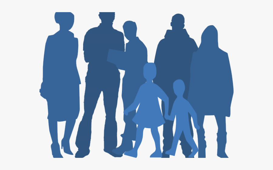 Transparent Group Of People Waving Goodbye Clipart.