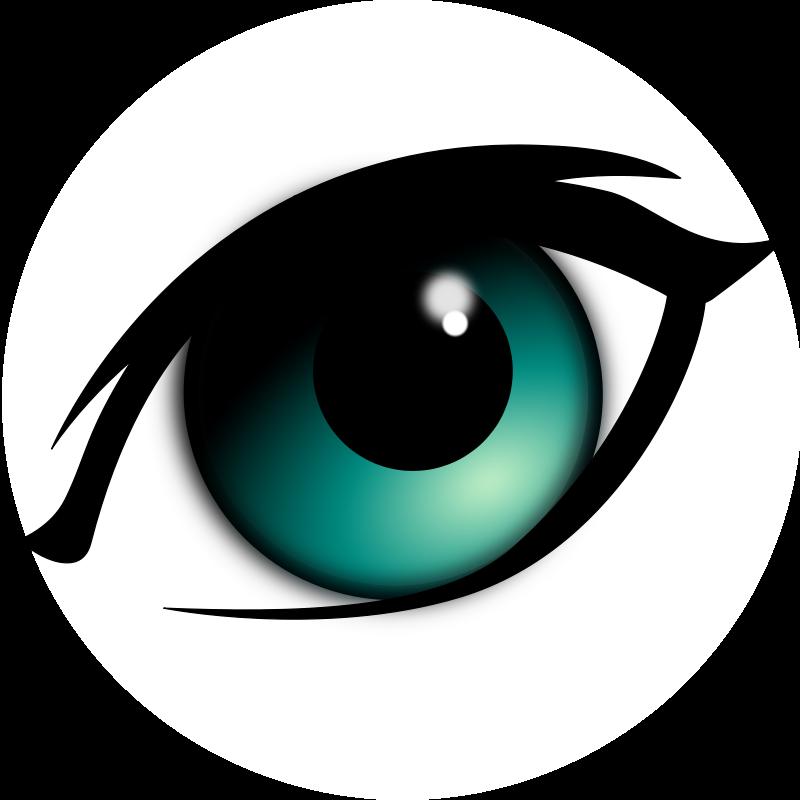 Cartoon Eyes Clipart.