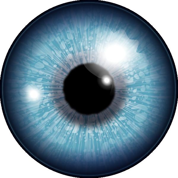 Blue Eye Clip Art at Clker.com.