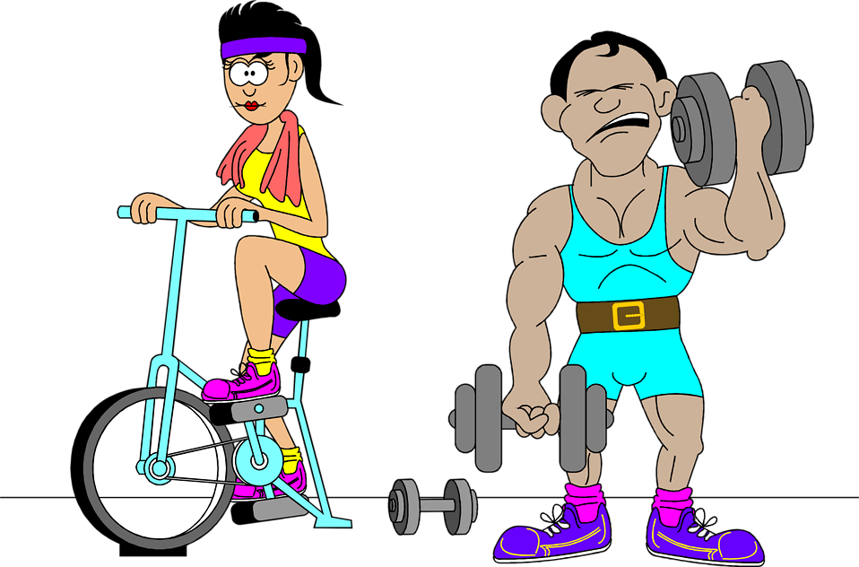 Working Out Clipart Free.