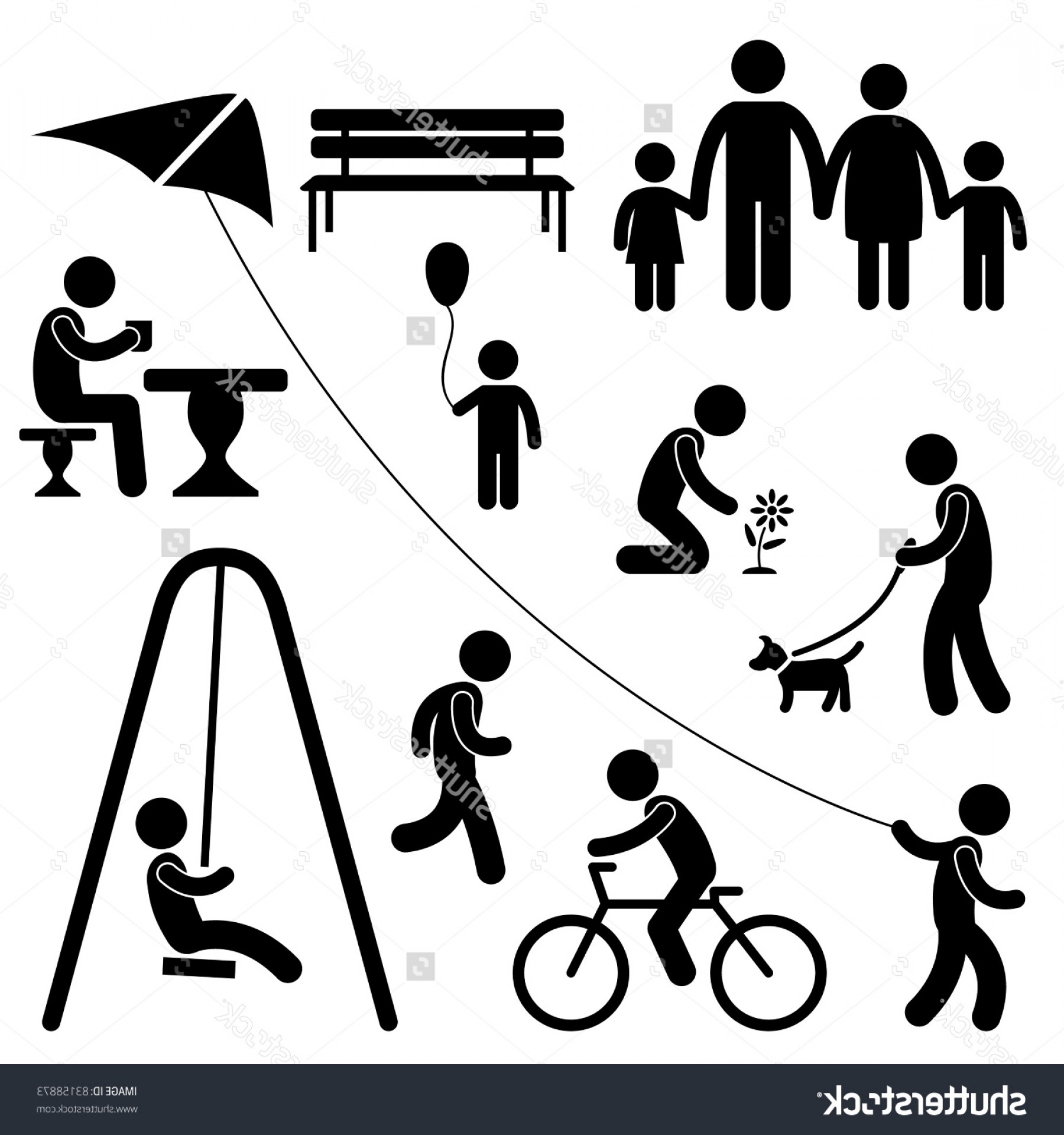 Excellent Man Icon Vector Activies Illustration.