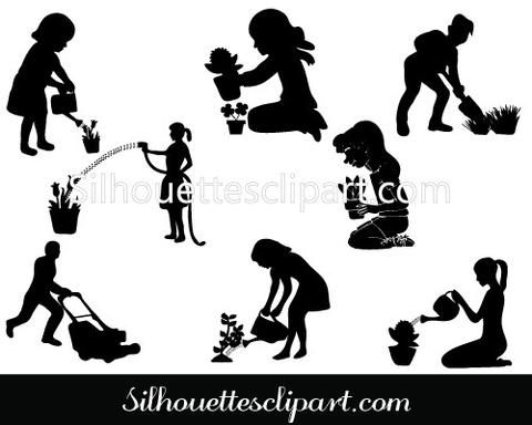 1000+ images about People Silhouette Vector on Pinterest.