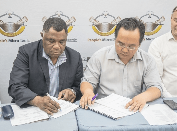 People\'s Micro Bank partners with Talasea District to.