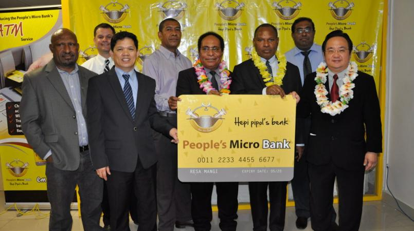 PMBL Port Moresby customer now can use electronic banking.