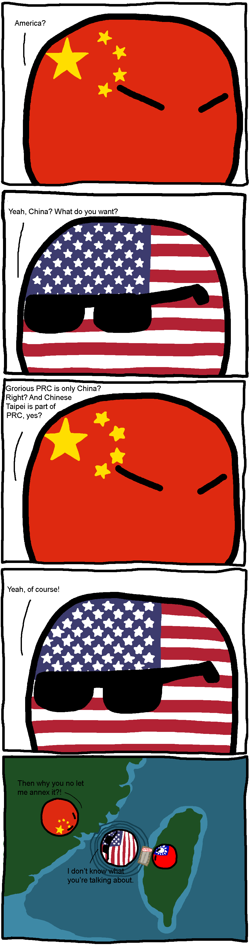 People's Republic of China, Only China! : polandball.