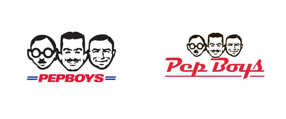 Brand New: New Logo for Pep Boys.