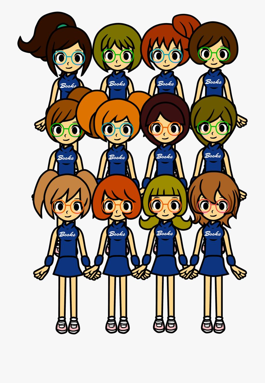 School Library Pep Squad.
