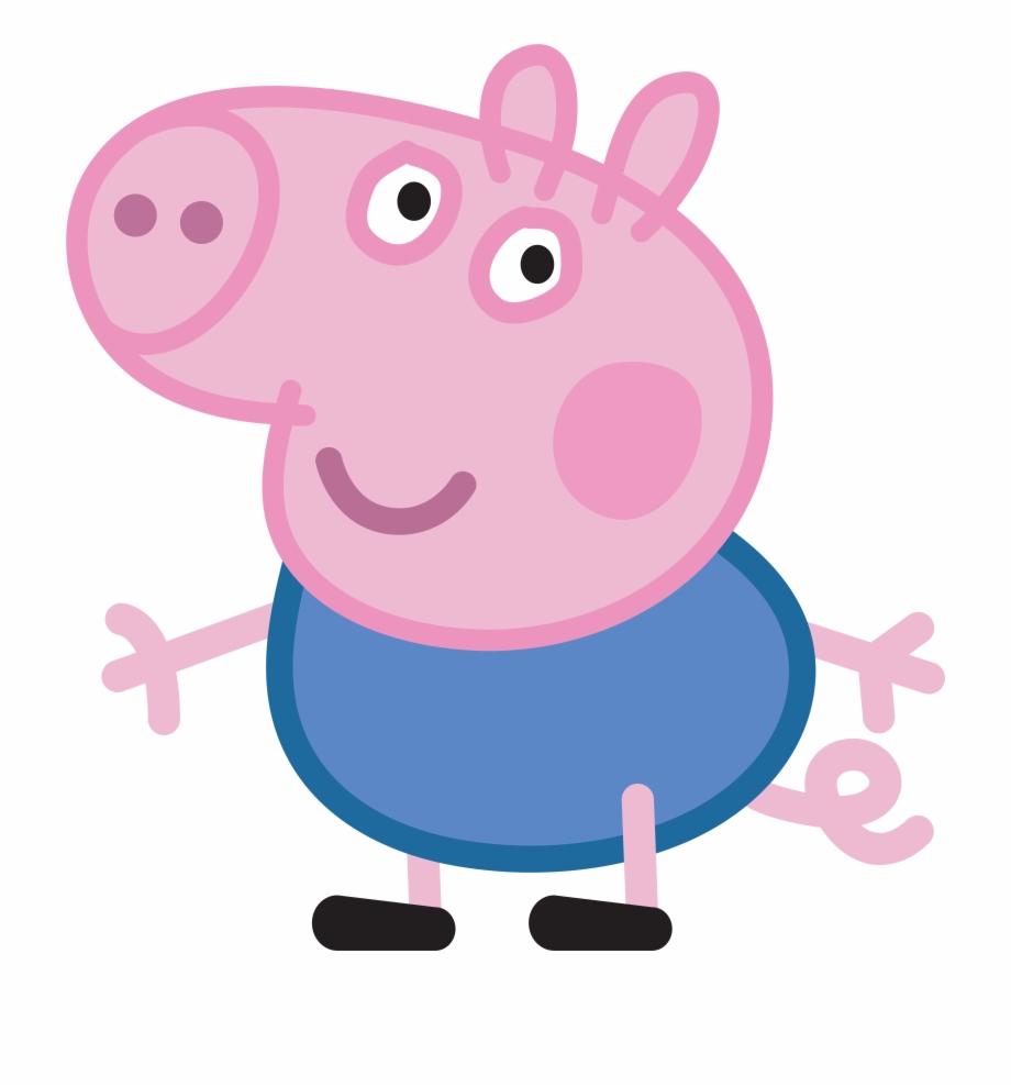 Peppa Pig George Peppa Pig Images, Pig Png, Peppa Pig.