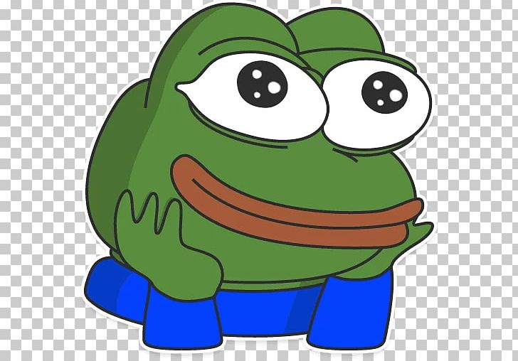 Pepe The Frog Telegram Sticker Decal PNG, Clipart, Amphibian.