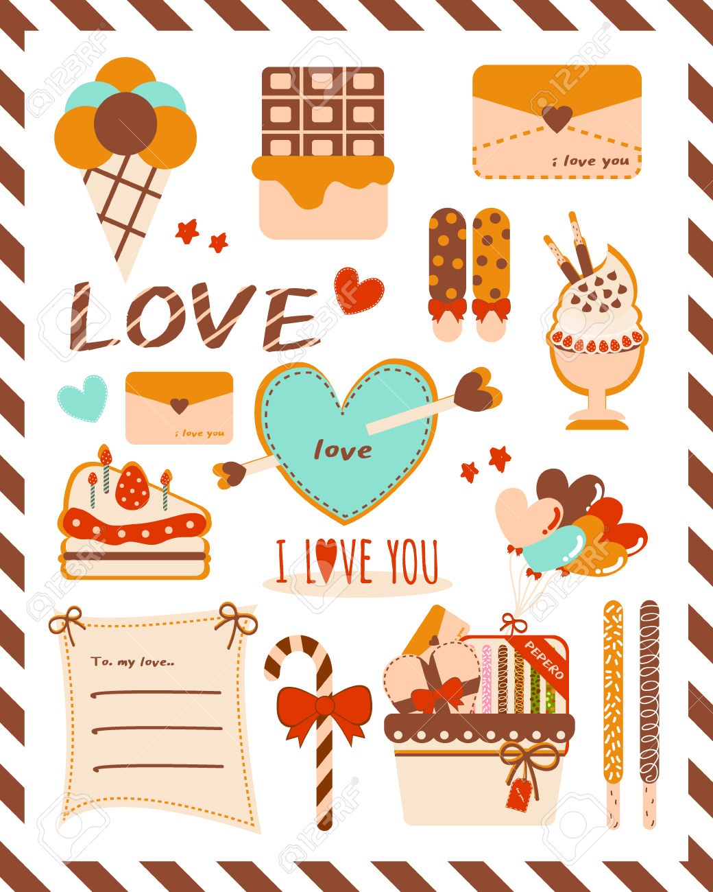 Pepero Day Design Source 3 Royalty Free Cliparts, Vectors, And.