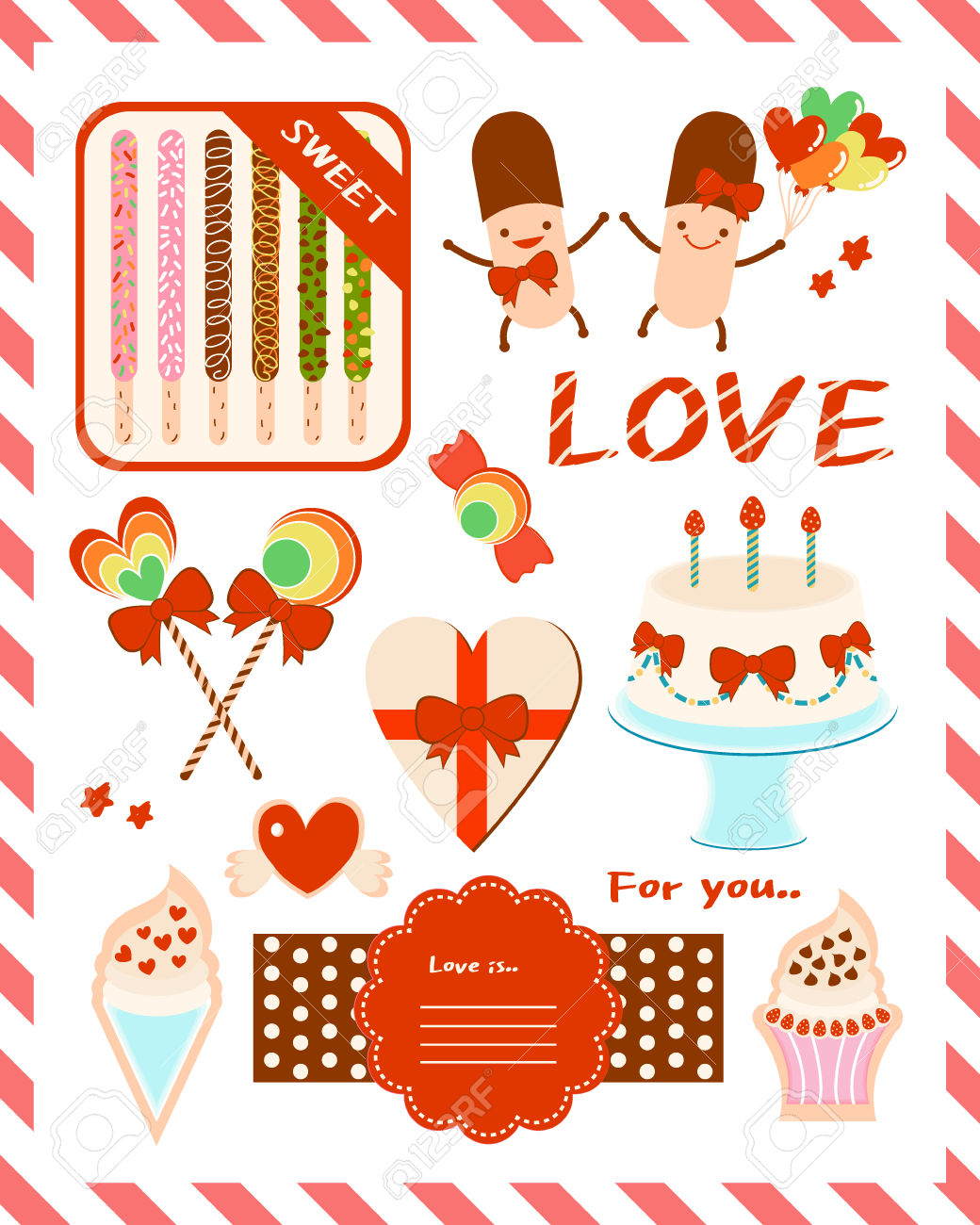 Pepero Day Design Source 1 Royalty Free Cliparts, Vectors, And.