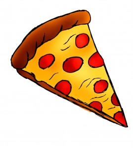 Pepperoni Pizza Clip Art.