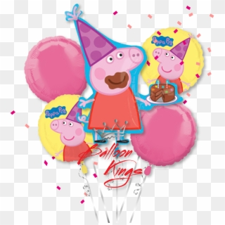 Peppa Pig Birthday PNG Images, Free Transparent Image.
