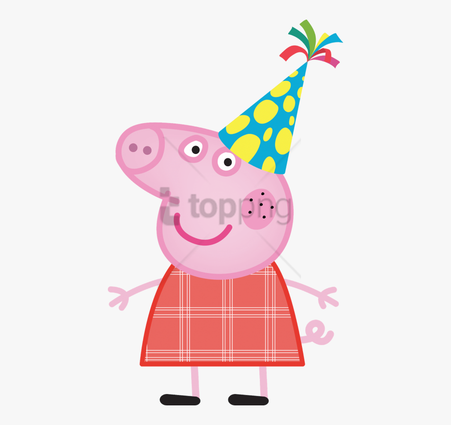 Birthday Party Clipart Peppa Pig.