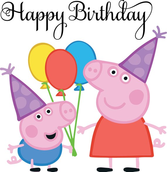 Peppa Pig Birthday Png (109+ images in Collection) Page 2.