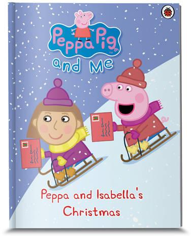 Personalised Peppa Pig Books.