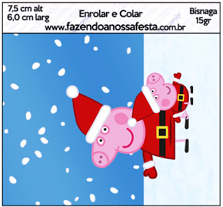 Peppa Pig Christmas Clipart.