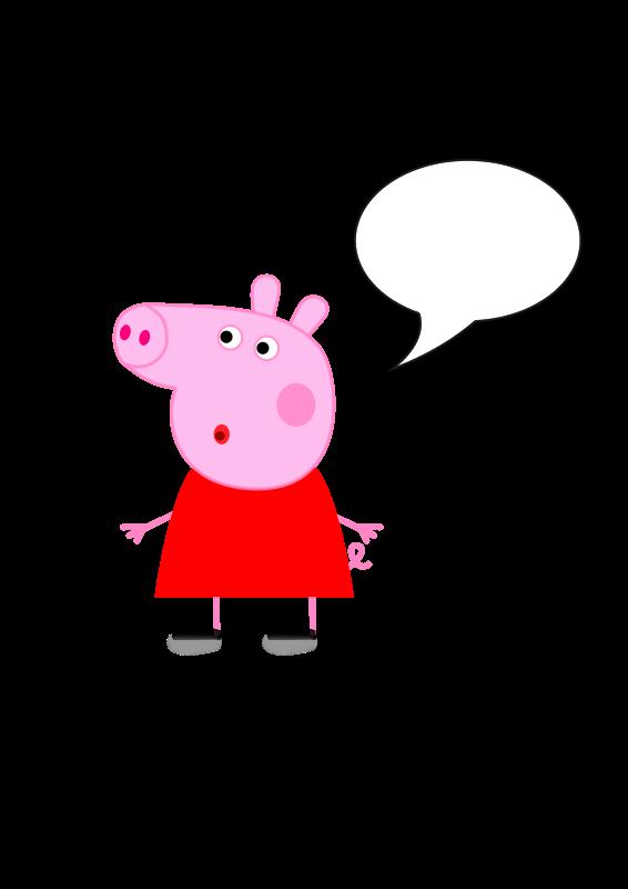 Free Clipart: Peppa Pig.