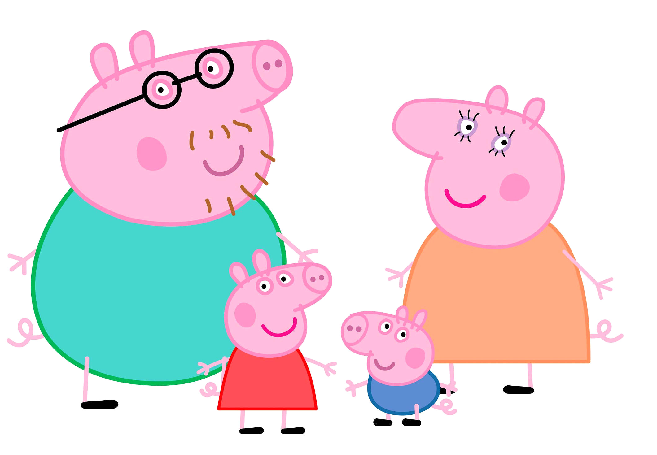 Peppa Pig Clipart at GetDrawings.com.