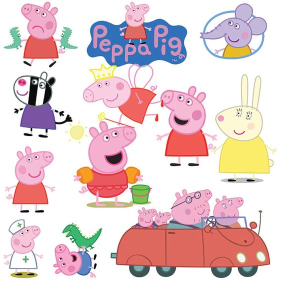Persnickety image regarding peppa pig character free printable images