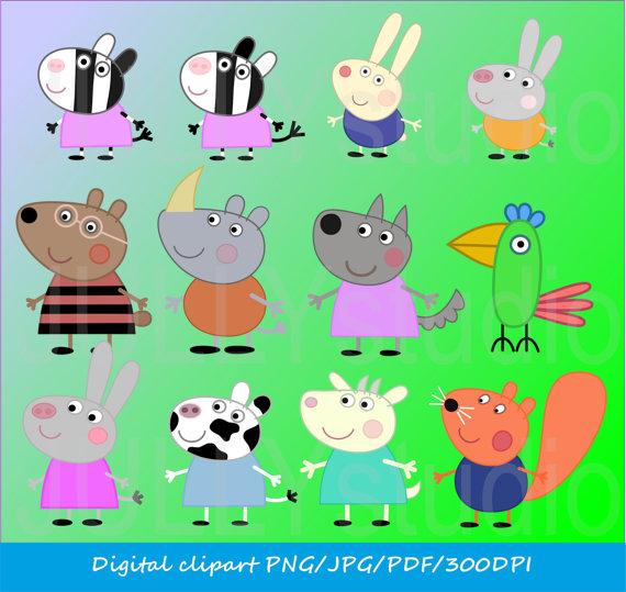 peppa pig clipart pdf Clipground