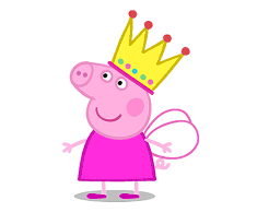Image result for peppa pig fairy cake template.