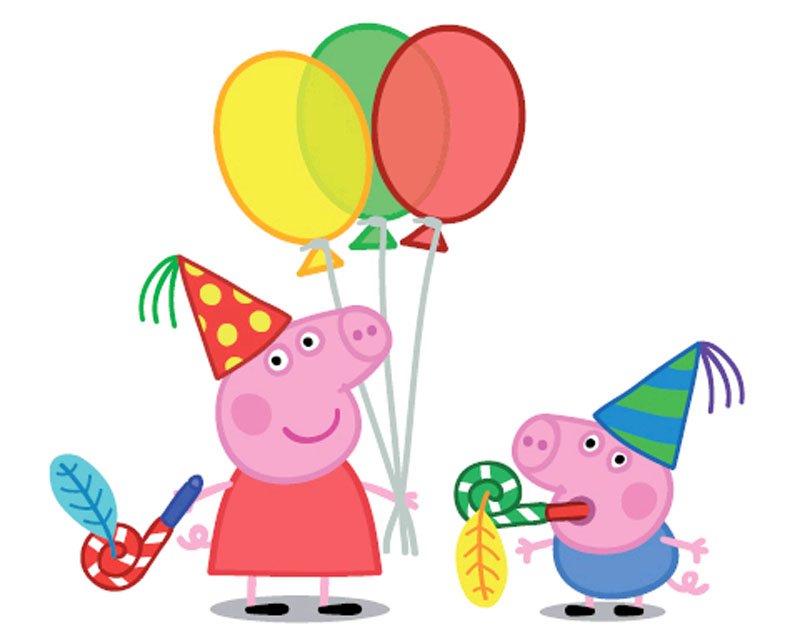 2099 Peppa Pig free clipart.