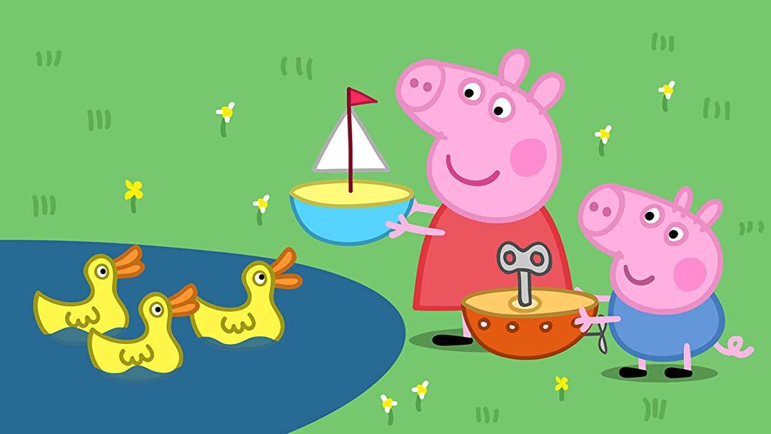 Watch Peppa Pig.