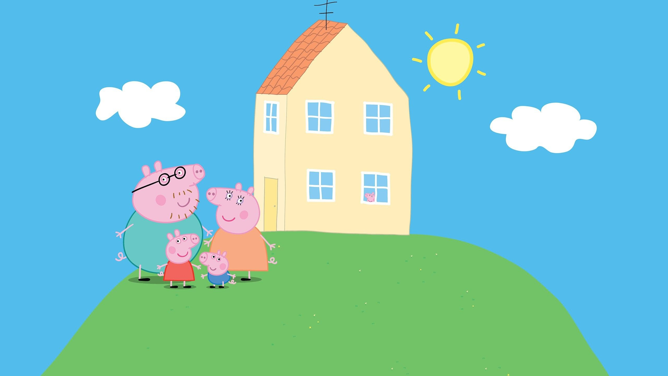 Peppa Pig House Wallpapers.