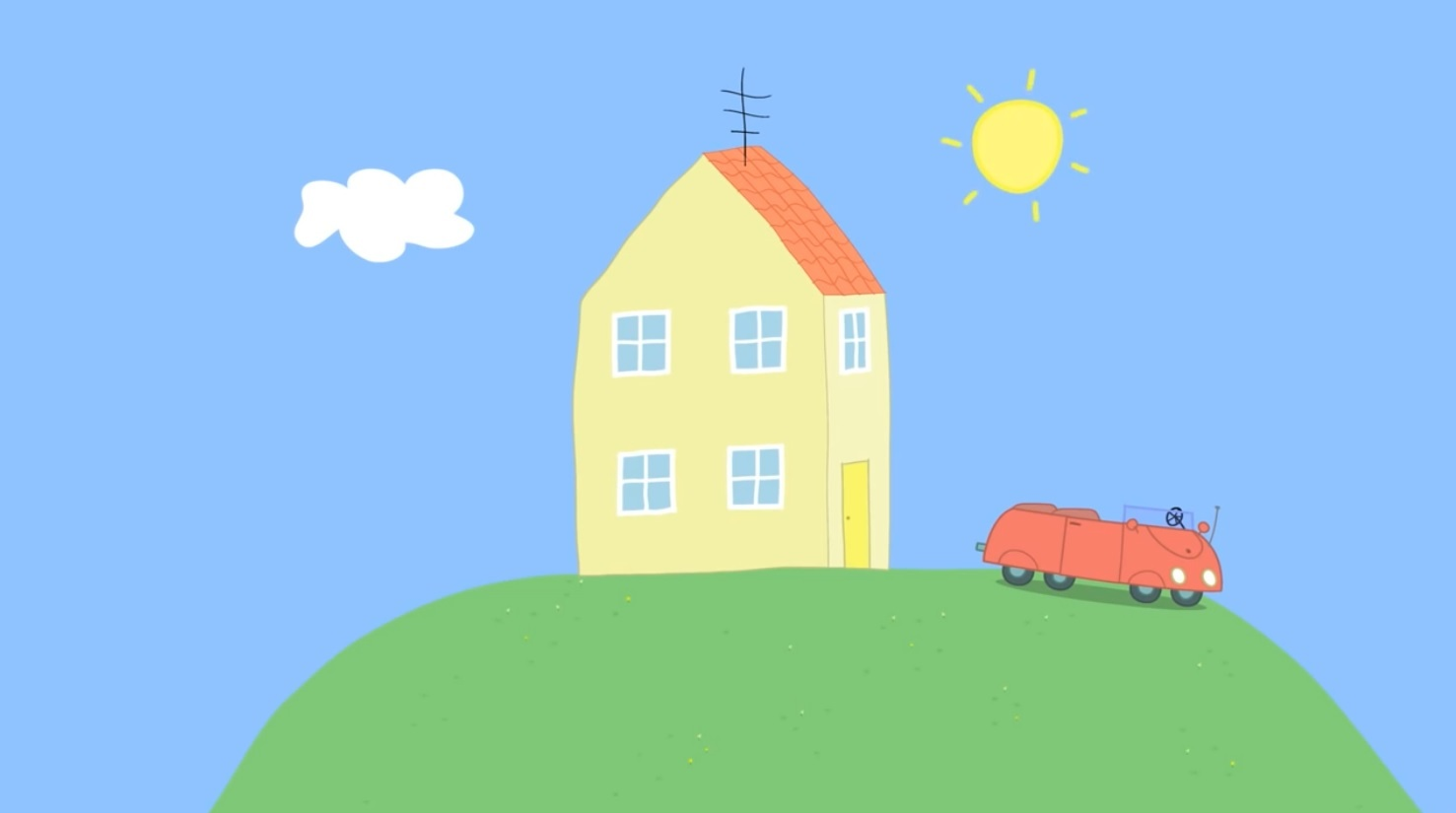 Peppa Pig House Clipart.
