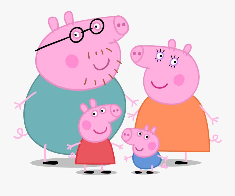 Familia Da Peppa Pig , Free Transparent Clipart.