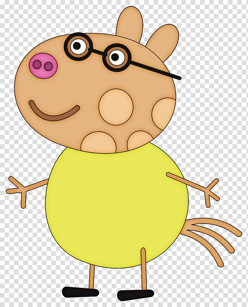 George Pig Character Pony, personajes peppa transparent.