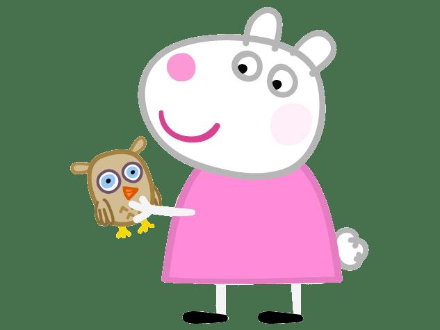Imágenes de Peppa Pig y sus amigos.
