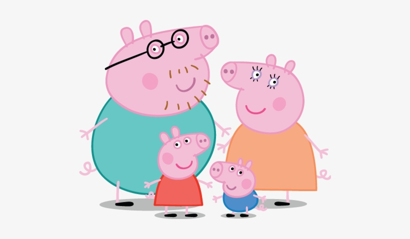 Peppa Pig Personajes.