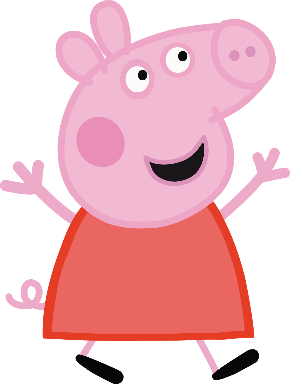 Pin on Peppa pig party.